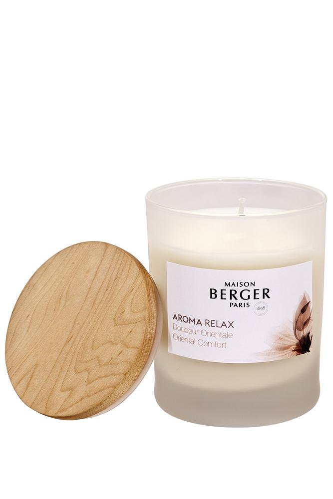 Lumanare parfumata Aroma Relax Douceur Orientale 180g