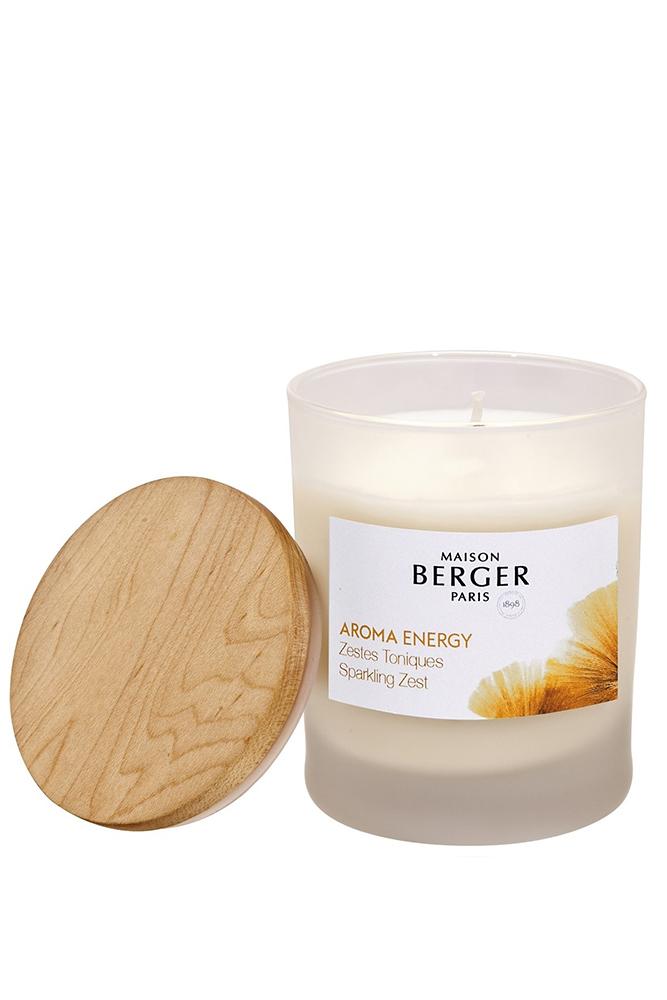 Lumanare parfumata Aroma Energy Zestes Toniques 180g