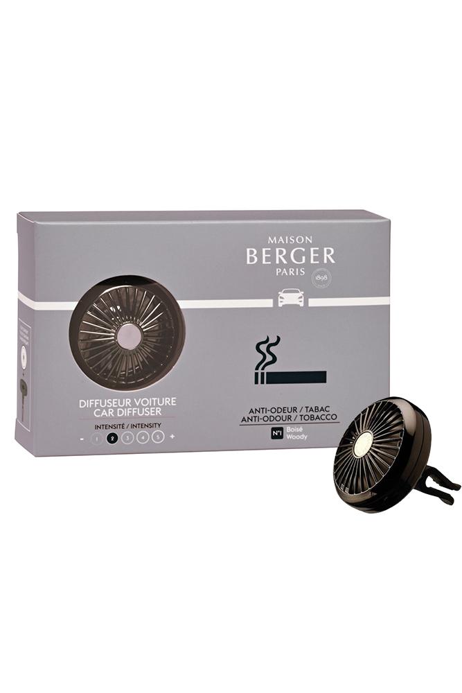 Set odorizant masina Berger Anti-Tabac + rezerva ceramica