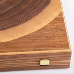 Table LUXURY - WALNUT NATURAL TREE TRUNK
