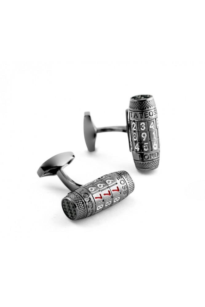 Gunmetal & Black Carbon Fibre