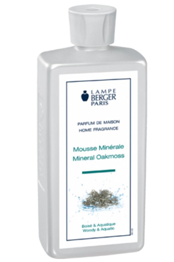 Parfum pentru lampa catalitica Berger Mousse Minerale 500ml
