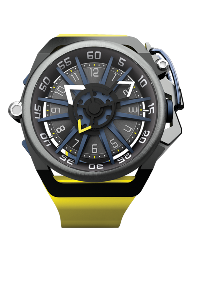 Mazzucato RIM Yellow Blue