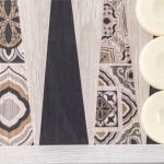 Table creative din replica lemn - MOROCCAN MOSAIC