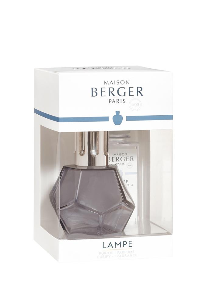 Set Berger lampa catalitica Geometry Reglisse cu parfum Caresse de Coton