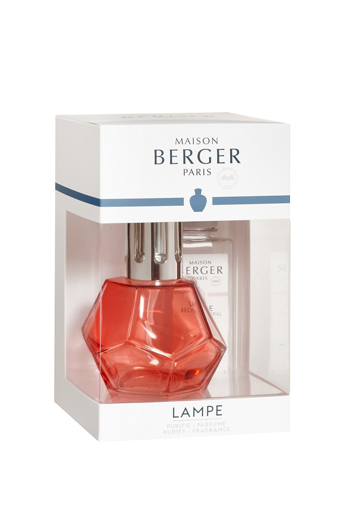 Set Berger lampa catalitica Geometry Grenadine cu parfum Paris Chic