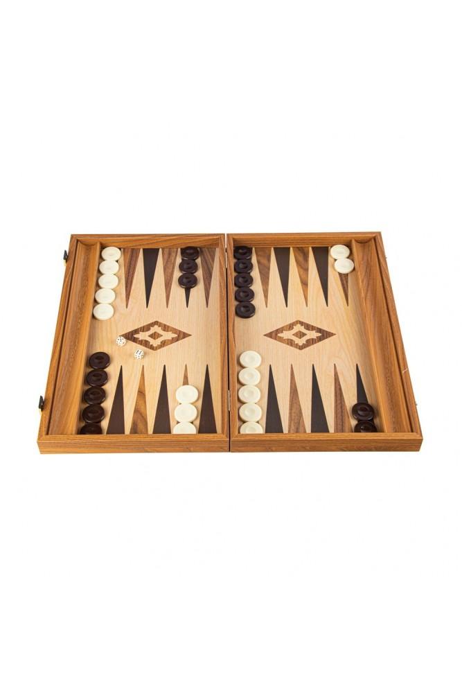 Table din replica de lemn de nuc si stejar