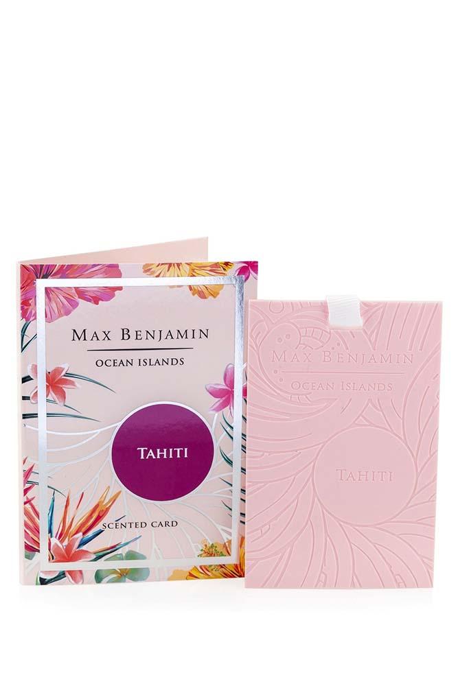 Card parfumat Max Benjamin Ocean Islands Tahiti