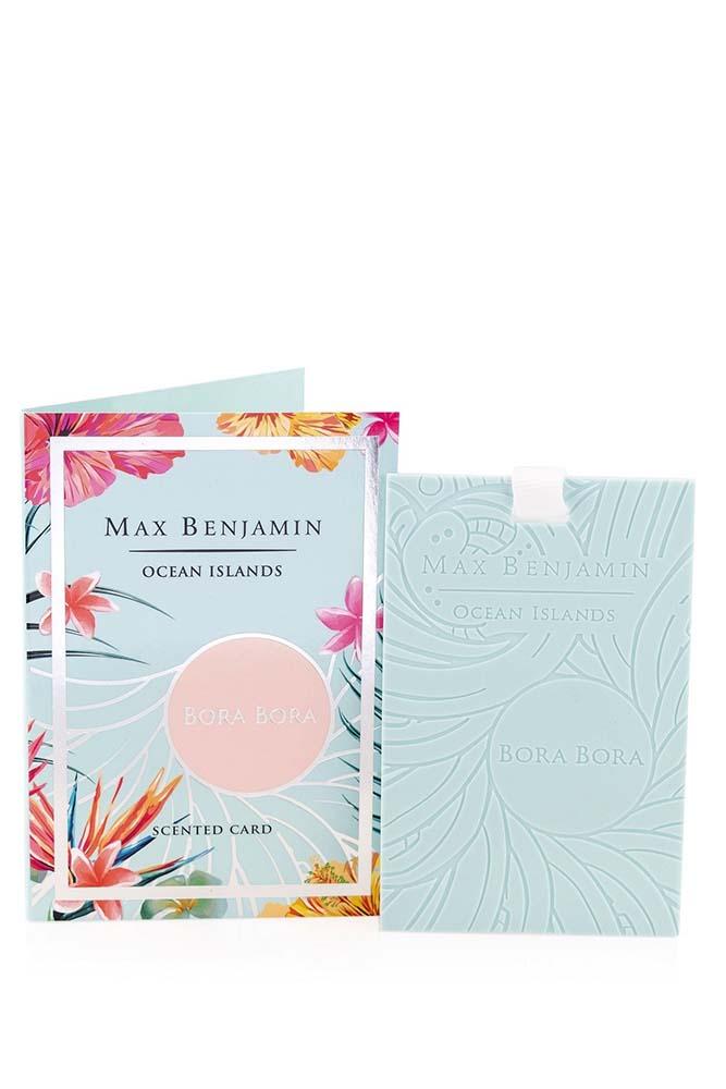 Card parfumat Max Benjamin Ocean Islands Bora Bora