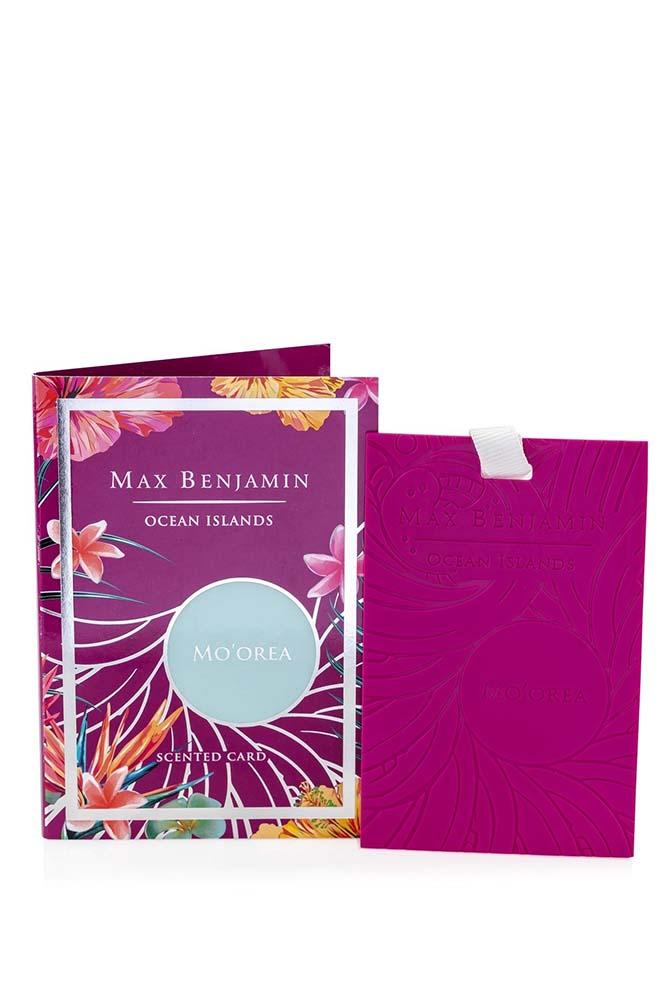 Card parfumat Max Benjamin Ocean Islands Mo'orea