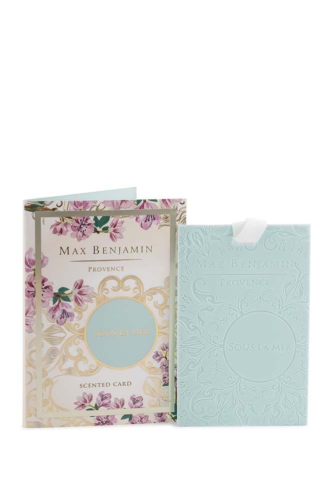 Card parfumat Max Benjamin Provence Sous La Mer