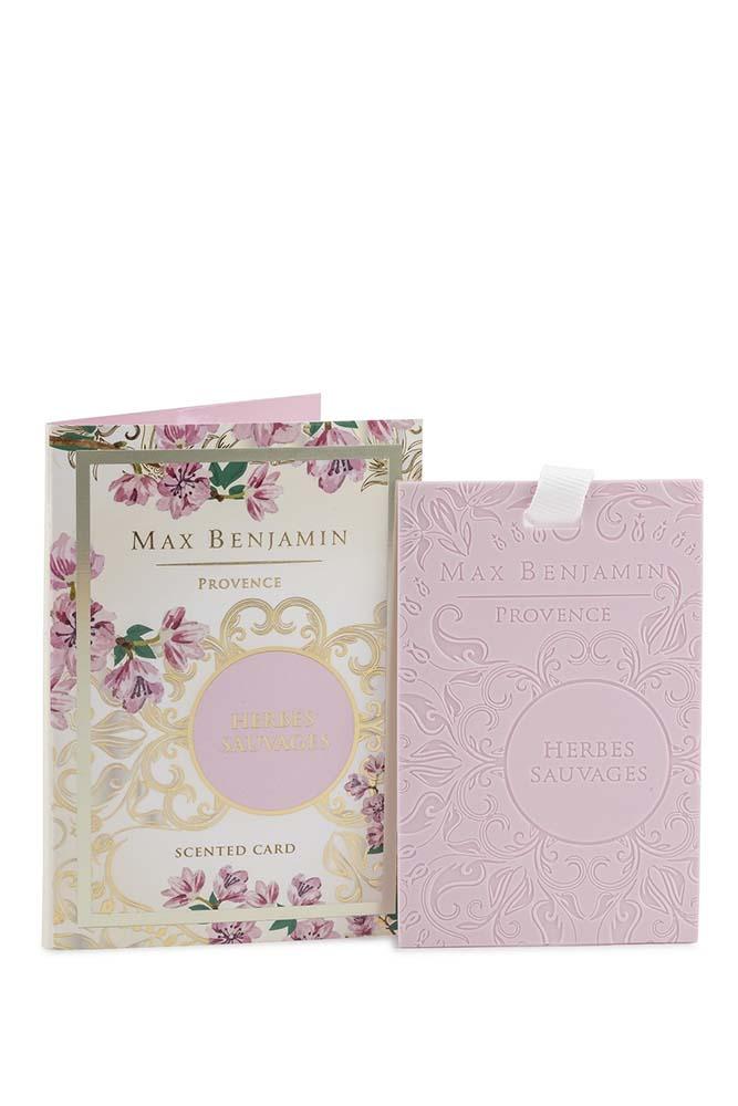 Card parfumat Max Benjamin Provence Herbes Sauvages