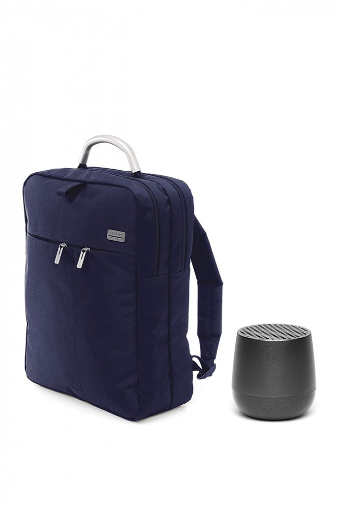 Pachet Lexon, Rucsac dublu Premium si Boxa bluethooth portabila Mino