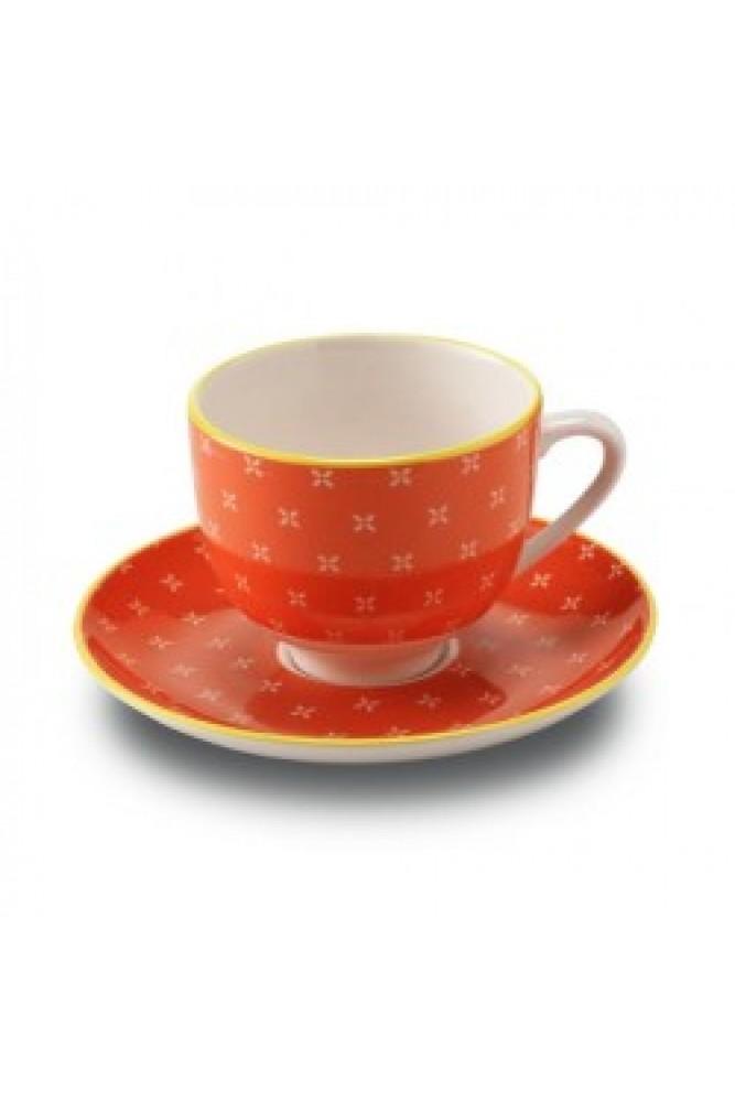 Set 6 cescute de cafea  Orange Zafferano